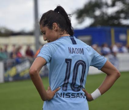 Nadia Nadim la nouvelle recrue féminine du PSG