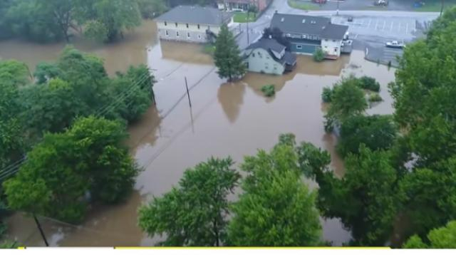 Relentless storms flood parts of East Coast. [Image source/CBS This Morning YouTube video]