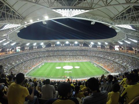 Il fantastico stadio King Abdullah, che ospiterà la finale