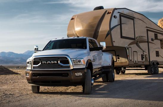 Nuovo Ram 3500, al Salone di Detroit, capacità di traino da record