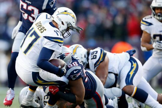 Patriots defeat the Chargers 41-28 - Bolts From The Blue - boltsfromtheblue.com