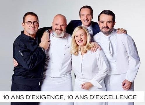Jean-François Piège, Hélène Darroze, Michel Sarran, Philippe Etchebest, Stéphane Rotenberg