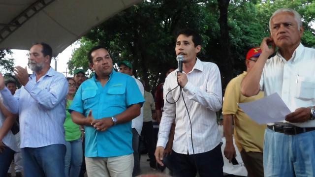 Estudiante Jesús Angarita de la universidad católica del táchira