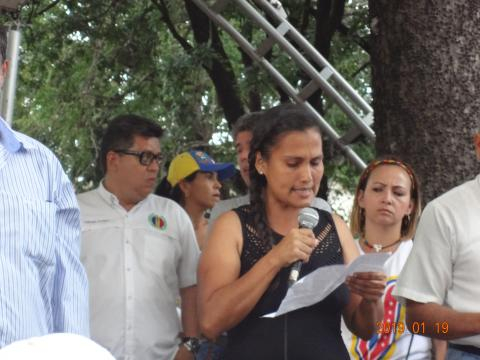 Representante de los docentes del municipio Bolívar