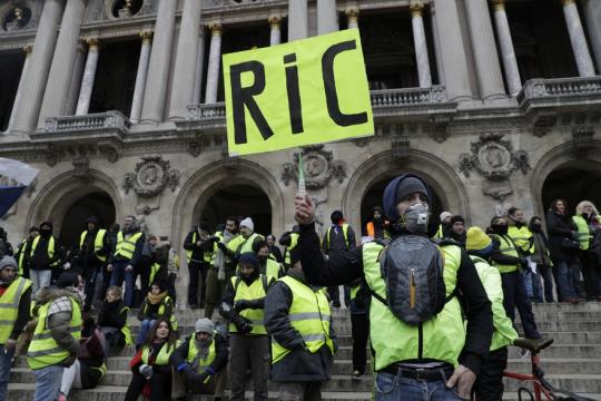 Le RIC, revendication phare des Gilets jaunes