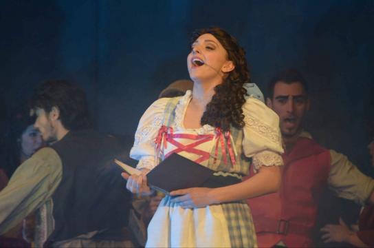 Un'immagine del musical