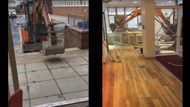 Scenes from a video captured inside the hotel. [Image Chris Waite/YouTube]