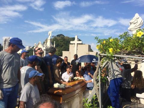 Ator morreu vítima de acidente de carro (foto: Reprodução / TV Globo)