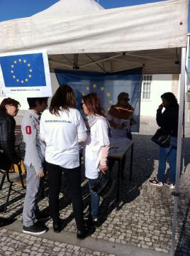 Um trabalho de equipa a pensar nas eleições europeias