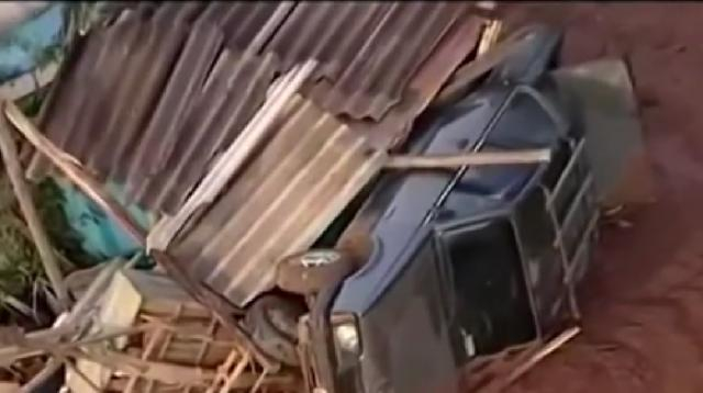 34 people dead, around 300 remain missing after Brazil dam collapse. [Image source/CGTN YouTube video]