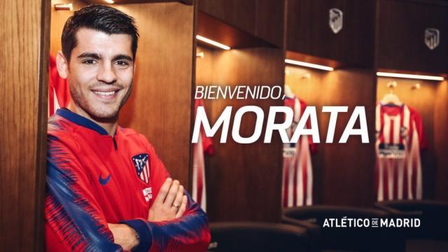 Atlético de Madrid anuncia la contratación de Álvaro Morata ... - com.mx