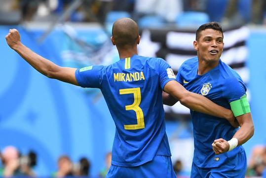 Silva et Miranda jouent depuis plusieurs années ensemble au sein de la seleção