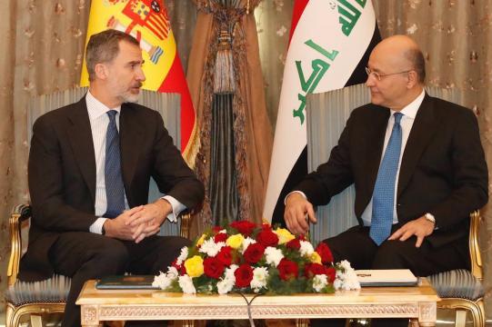 Entrevista con el presidente iraquí