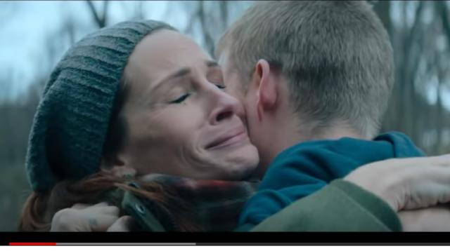 'Ben Is Back' Official Trailer (2018) | Julia Roberts, Lucas Hedges. [Image source/Moviefone YouTube video]