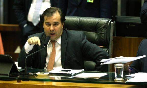 Deputado Rodrigo Maia mira a cadeira de presidente da Câmara enquanto costura apoio - via Galeria BN