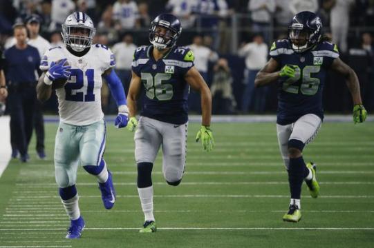 Cowboys eliminaron a Seattle al ganar la batalla de corredores. www.nola.com