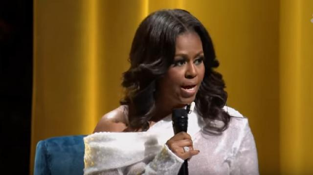 Former first Lady Michelle Obama describes life in the White House. [Image source/NBC News YouTube video]