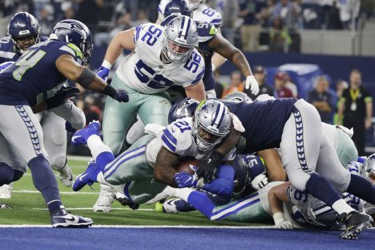Los Cowboys regresan tras dos años a la ronda divisional. www.fieldgulls.com