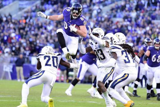 La ofensiva de los Ravens apenas despertó en el último cuarto. www.baltimorebeatdown.com