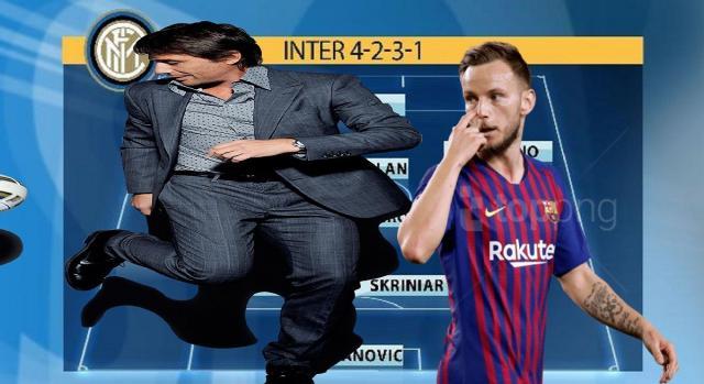 Conte vuole un'Inter competitiva con Rakitic