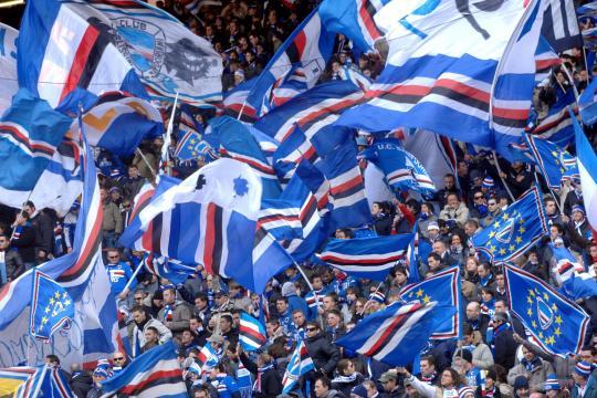I tifosi della Sampdoria pronti ad accogliere Ranieri