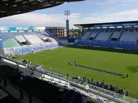 Mapei Stadium di Reggio Emilia, Reggiana-Triestina LIVE