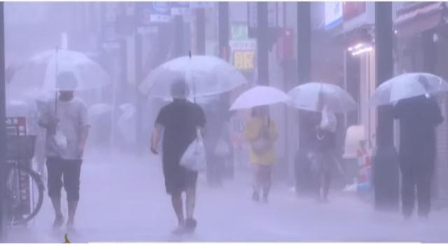 Tokyo braces for Hagibis, worst typhoon to hit city in 60 years. [Image source/Al Jazeera English YouTube video]