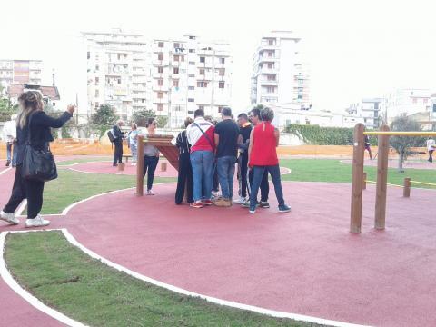 Inaugurazione 'Parco dei Suoni' Palermo 1
