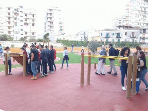 Inaugurazione 'Parco dei Suoni' Palermo