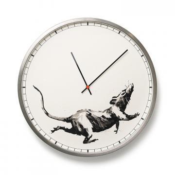 Banksy™ Clock, l'orologio con il topo