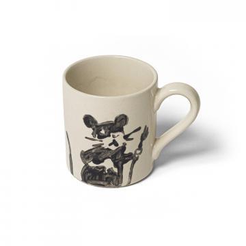 Banksy™ Mug, la tazza con iconico topolino simbolo dell'artista