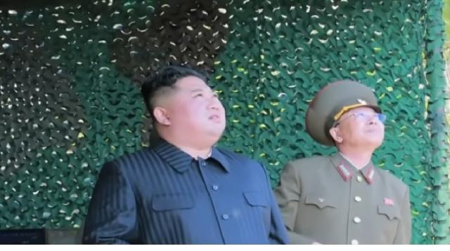 Kim Jong-Un oversaw short-range projectiles launch: KCNA. [Image source/ARIRANG NEWS YouTube video]
