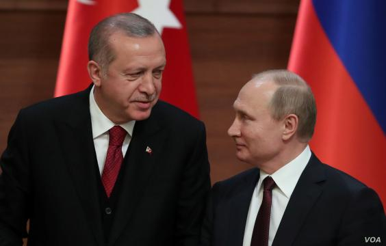 Erdogan Visits Moscow with Looming Turkish Military Op in Syria ... - voanews.com