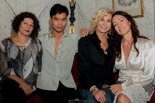 Gabrielle Despeghel, Jérémy Bellet, Fiona Gélin, Marie Chatelain (Photo Sébastien Besancenez)