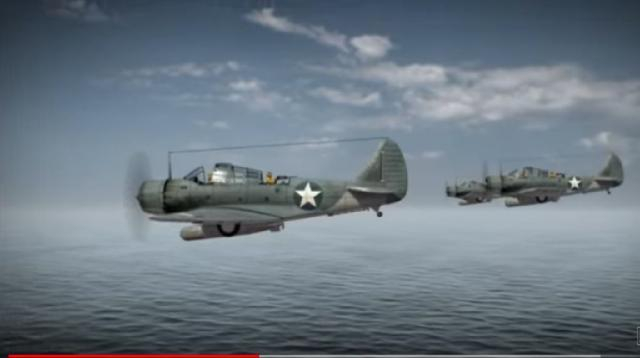 The Battle of Midway: Anatomy of a Decisive World War II Victory. [Image source/ History YouTube video]