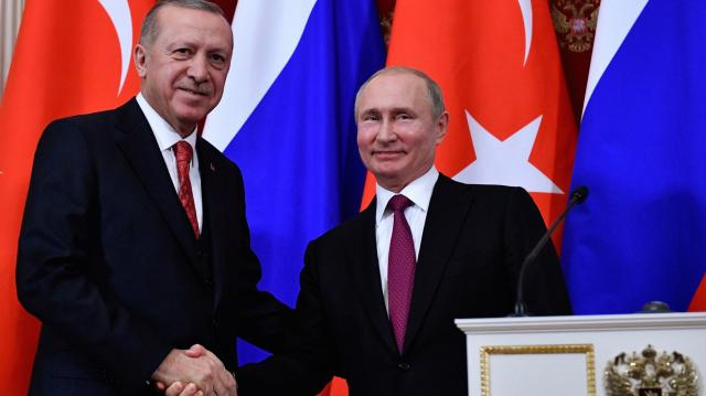 Erdogan-Putin Syria meeting commences in Moscow - al-monitor.com