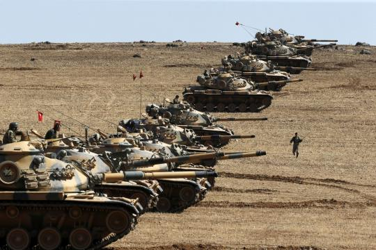 As ISIS Take Kobane, NATO's Second Largest Army Sits on the Sidelines - newsweek.com
