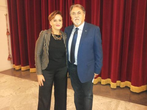 Silvia Castronovi e Riccardo Di Grusa
