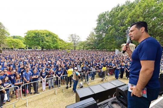 12 mil pessoas compareceram em evento no Parque do Ibirapuera (SP) (Crédito das fotos: Demetrio Koch/ Universal/ Divulgação)