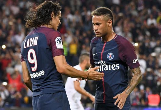 PSG : Neymar aurait exigé le départ de Cavani - Transferts - Football - lefigaro.fr