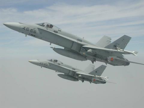 El ejercicio Dardo implica a todas las unidades del EDA en temas de combate aíre-aire