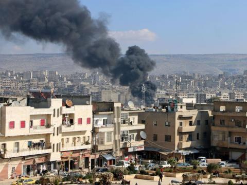 SIRIA. Afrin, 25 giorni di