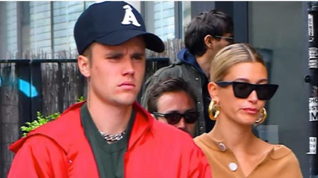Hailey & Justin Bieber's road to the altar. [Image source/E! News YouTube video]