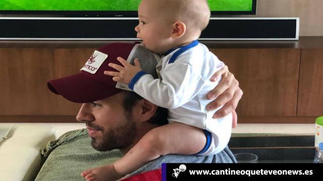 Enrique Iglesias muestra a su hijo Nicholas en Instagram