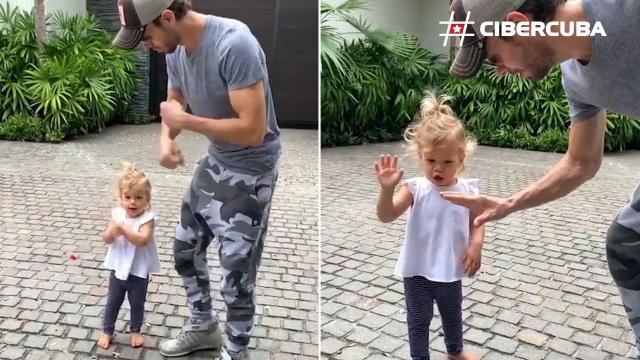 Enrique Iglesias y su hija Lucy enamoran en las redes con su baile ... - cibercuba.com