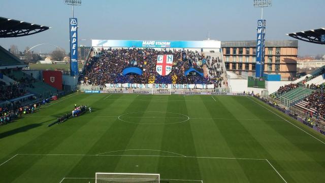Sassuolo-Inter vista dalle due curve - sportellate.it