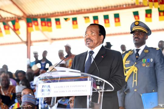 Paul Biya du Cameroun © Google