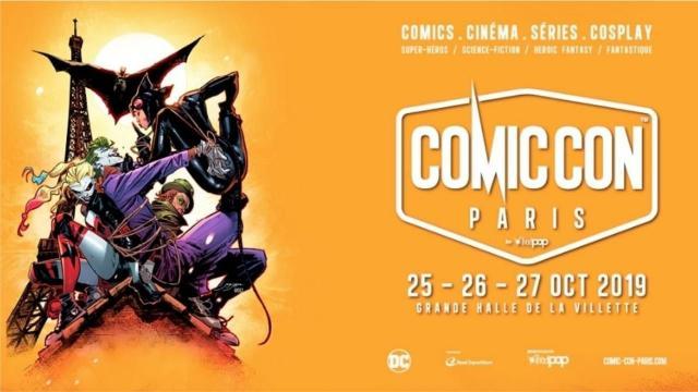 Le Comic con Paris, comme son homologue américain rencontre chaque année un véritable succès auprès des fans de pop culture !