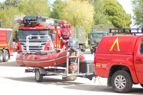 La UME está dotada de lo último en equipos para situaciones de emergencia