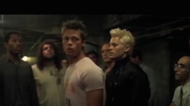 Fight Club (1999) Trailer #1. [Image source/ Movieclips Classic Trailers YouTube video]
